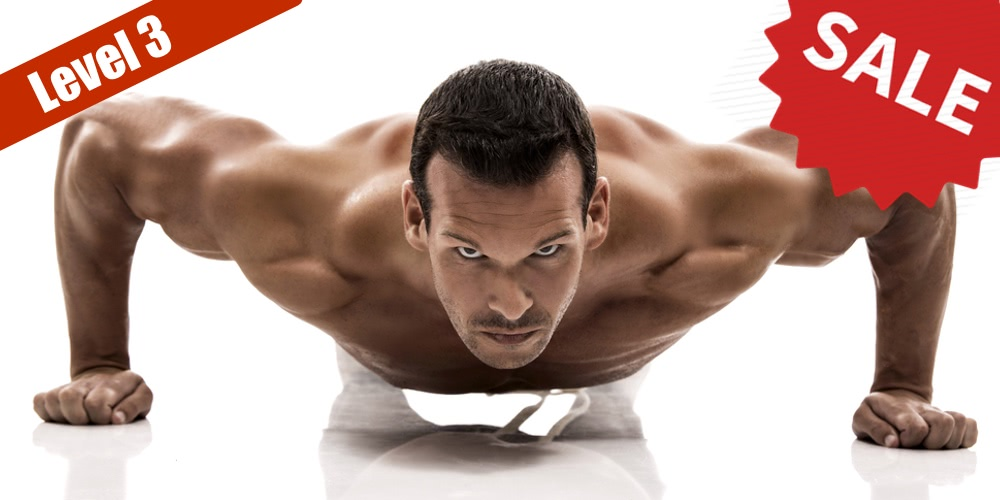 100 Pushups Package Level 1-3