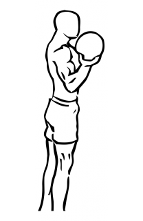Bicep curl lunge with bowling motion small frame 1
