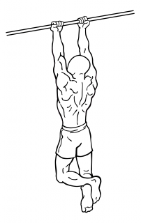 Chin ups small frame 1