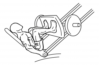 Narrow stance leg press small frame 1