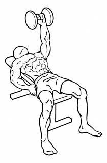 One arm bench press small frame 2