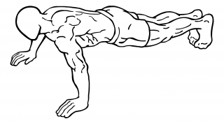 Push ups small frame 1