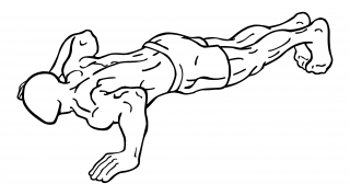 Push ups small frame 2