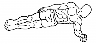 Side plank small frame 1