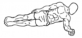 Side plank small frame 2