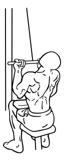 Underhand pull downs small frame 2