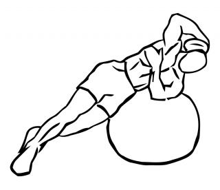 Weighted ball side bend small frame 1