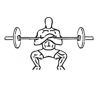 Zecher squats small frame 2